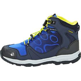 Jack Wolfskin Akka Texapore Hiking Shoes Mid Cut Boys vibrant blue